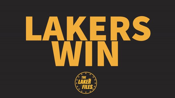 @timcates The 5th straight win and best record in the league rolling thru teams! #LakeShow