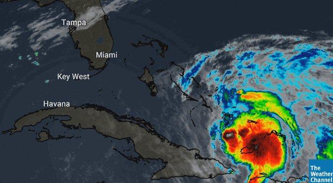 @weatherchannel's photo on Hurricane Isaias