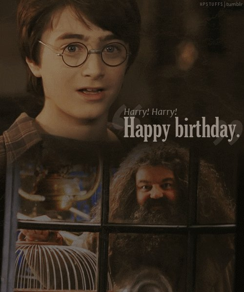 Man, I almost forgot to wish Harry Potter a happy Birthday.  Happy Birthday, Harry.