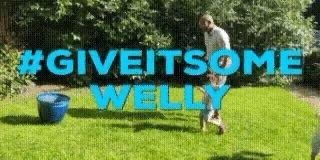 @TheVillageHudds @HuddersfieldBID @Huddersfield4U @VHuddersfield @huddsfoodfest @HuddersLive @HelloHudders @SustHudds @Giantsrl @CivicSocietyHD We've been wanging wellies! #giveitsomewelly