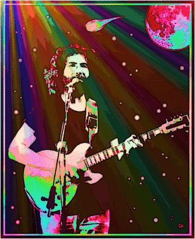 Happy birthday Jerry Garcia !