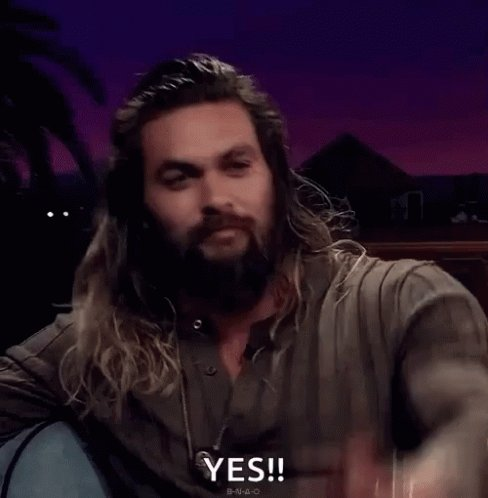 Happy birthday! You share the day with Jason Momoa