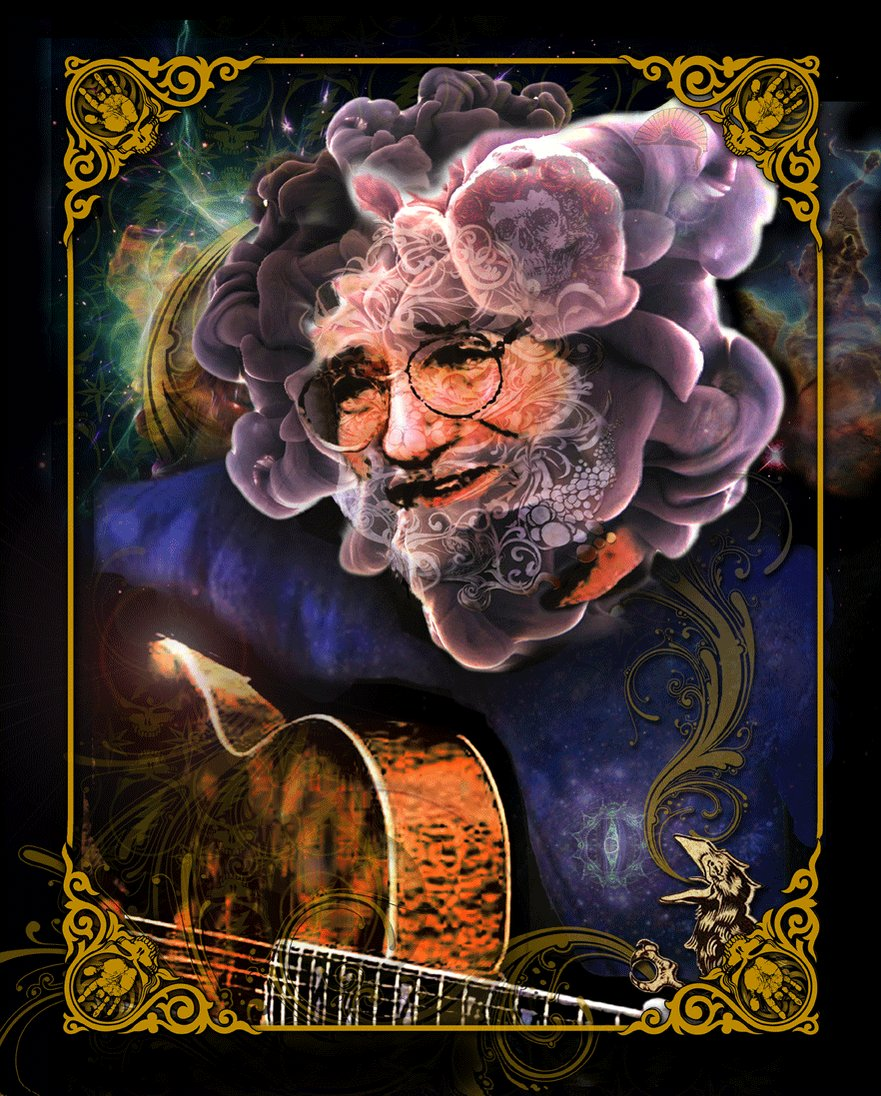 Happy Birthday to the man, the myth, the legend Jerry Garcia.