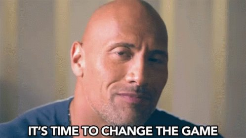 Its Time To Change The Game Time For Change GIF