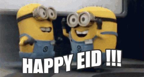 Happy Eid Minon GIF