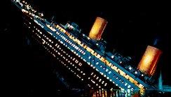 Sinking Leonardo Dicaprio GIF