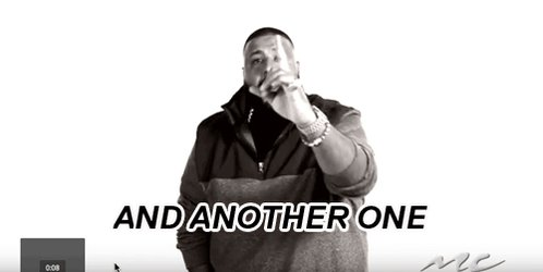 dj khaled and another one GIF