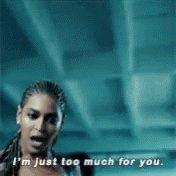 Beyonce Dont Hurt Yourself GIF
