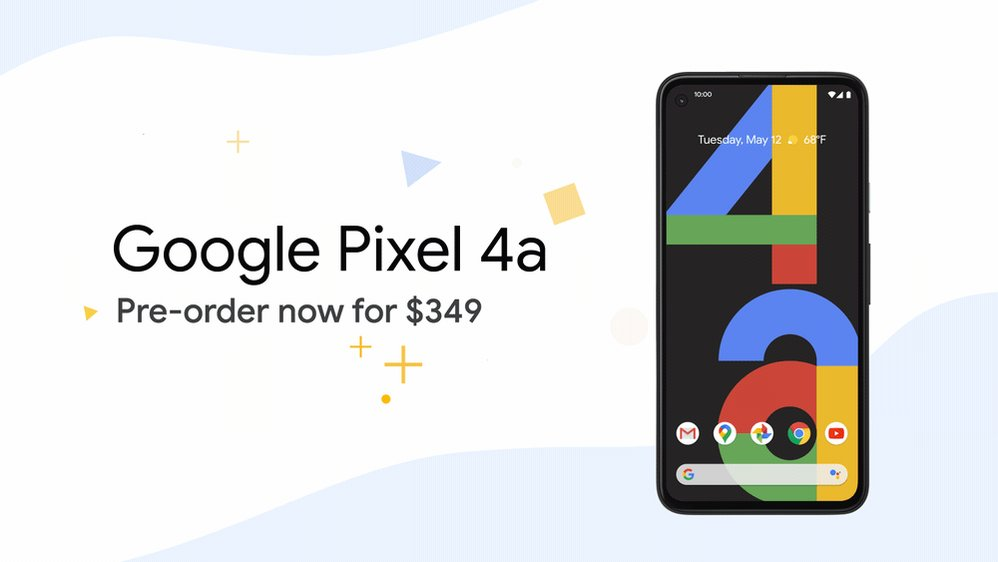 We've got some *exciting* news.   Introducing Google Pixel 4a, the helpful Google phone. Pre-order yours today for just $349 →    #TeamPixel @madebygoogle