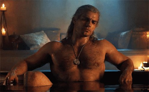 Henry Cavill The Witcher GIF