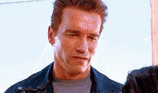 Arnold Schwarzenegger Smile GIF