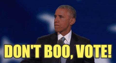 Voting Barack Obama GIF by ...