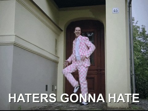 haters know GIF