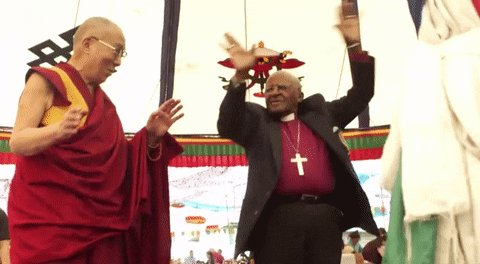 @AuthorWoodroe Oh the Dalai Lama would be just right for you, I will invite you over when I know he is coming!