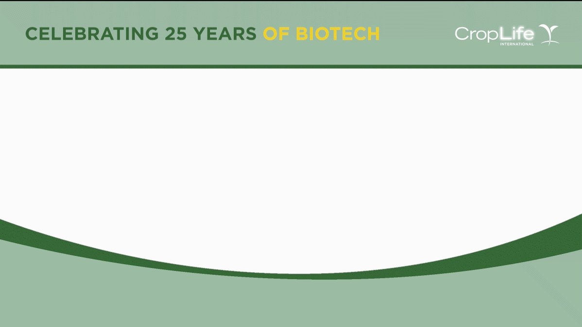 Celebrating 25 Years of Biotech: Growing GM crops has helped 16.5 million farmers, their families, and their communities, mostly in developing countries, over the past 20 years: #25YearsAgBiotech https://t.co/mWwM0Q6mSN