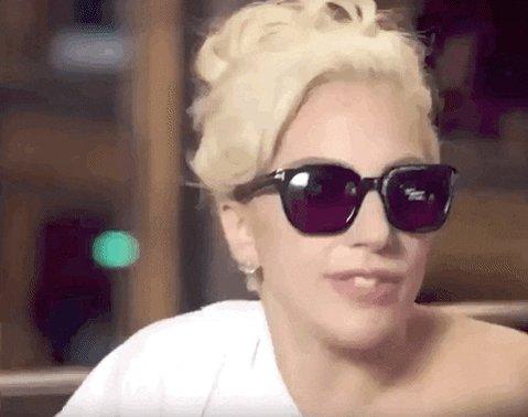 Lady Gaga Compliment GIF