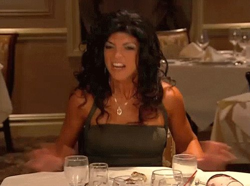 Real Housewives Table Flip GIF