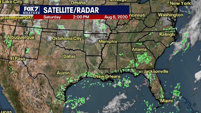 Scott Fisher Says: Latest Satellite and Radar #Austin #Texas #Weather https://t.co/2jGBOueZT8