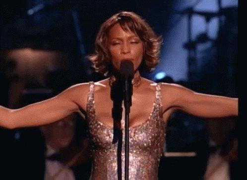 Happy birthday Whitney Houston, wherever you are  .
