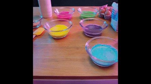 rainbow sorting GIF