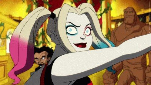 working my way thru Harley Quinn
