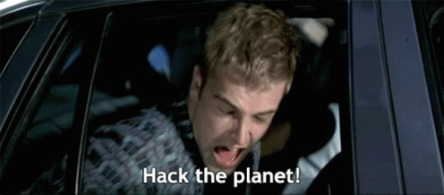 Hack The Planet GIF