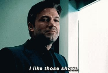 Happy Birthday Ben Affleck, a man who probably always has nice shoes.