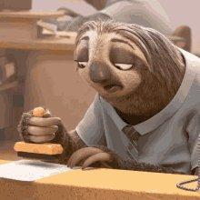 Sloth Slow GIF
