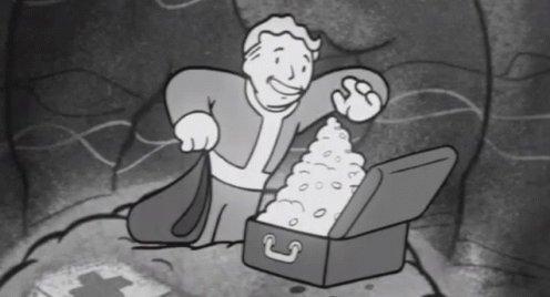Sweet Loot - Fallout GIF
