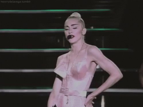 The GOAT, PERIOD! Happy birthday, Madonna