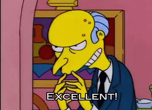 Excellent The Simpsons GIF