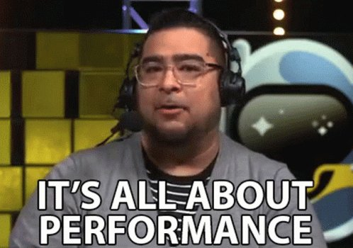 Its All About Performance Execution GIF