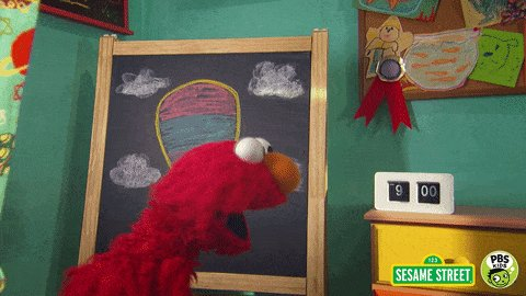 read sesame street GIF by PBS KIDS