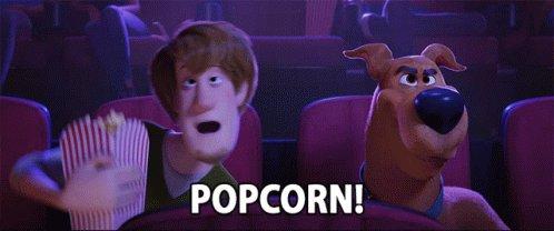 Snacks Movie Time GIF
