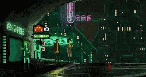 Cyberpunk - Punk GIF