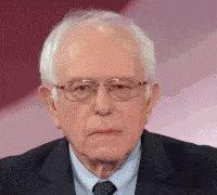 Bernie Sanders Disgust GIF