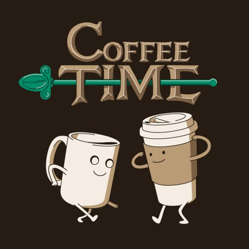 adventure time coffee GIF by hoppip