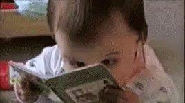 Frantic Reading GIF