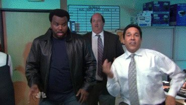 The Office Party Hard GIF