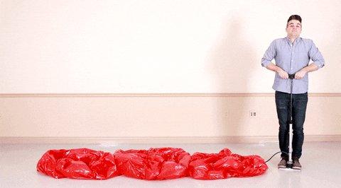ego inflating GIF by Jon Ne...