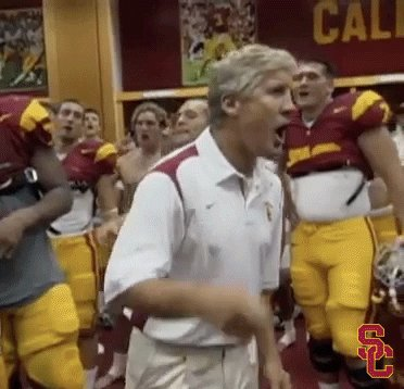 Happy 69th bday Pete carroll! Oh the glorious usc days