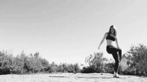 Girl Flexible GIF