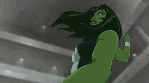 She Hulk Punch GIF