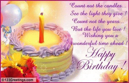 Happy Birthday,