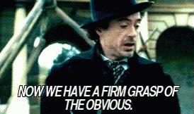 Sherlock Holmes GIF