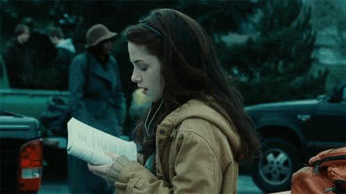 Happy birthday Bella Swan and I hope you have a great day today with all your family and friends.