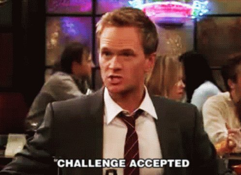 Challenge Accepted Himym GIF