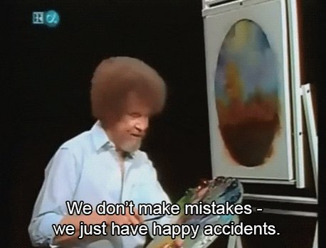 fail bob ross GIF