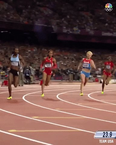 Track And Field Running GIF by Team USA