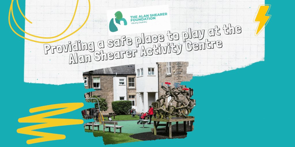 Did you know the Alan Shearer Foundation is the fundraising arm for the Alan Shearer Activity Centre a specialist facility for children and adults with profound disabilities and acute sensory impairments.